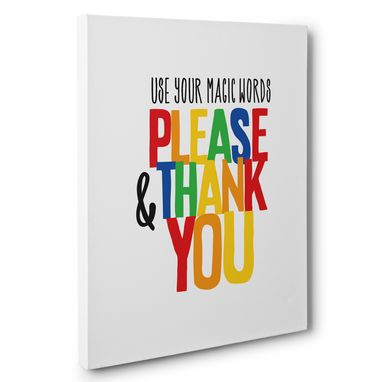 Custom Made Use Your Magic Words Motivational Canvas Wall Art