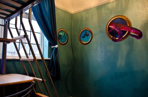 Custom Made Under The Sea Bedroom - Porthole Wall Decals