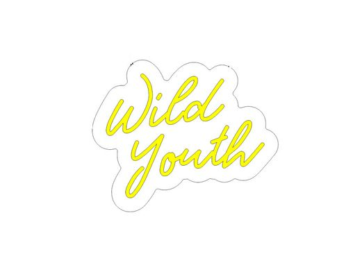 Custom Made Wild Youth Neon Sign