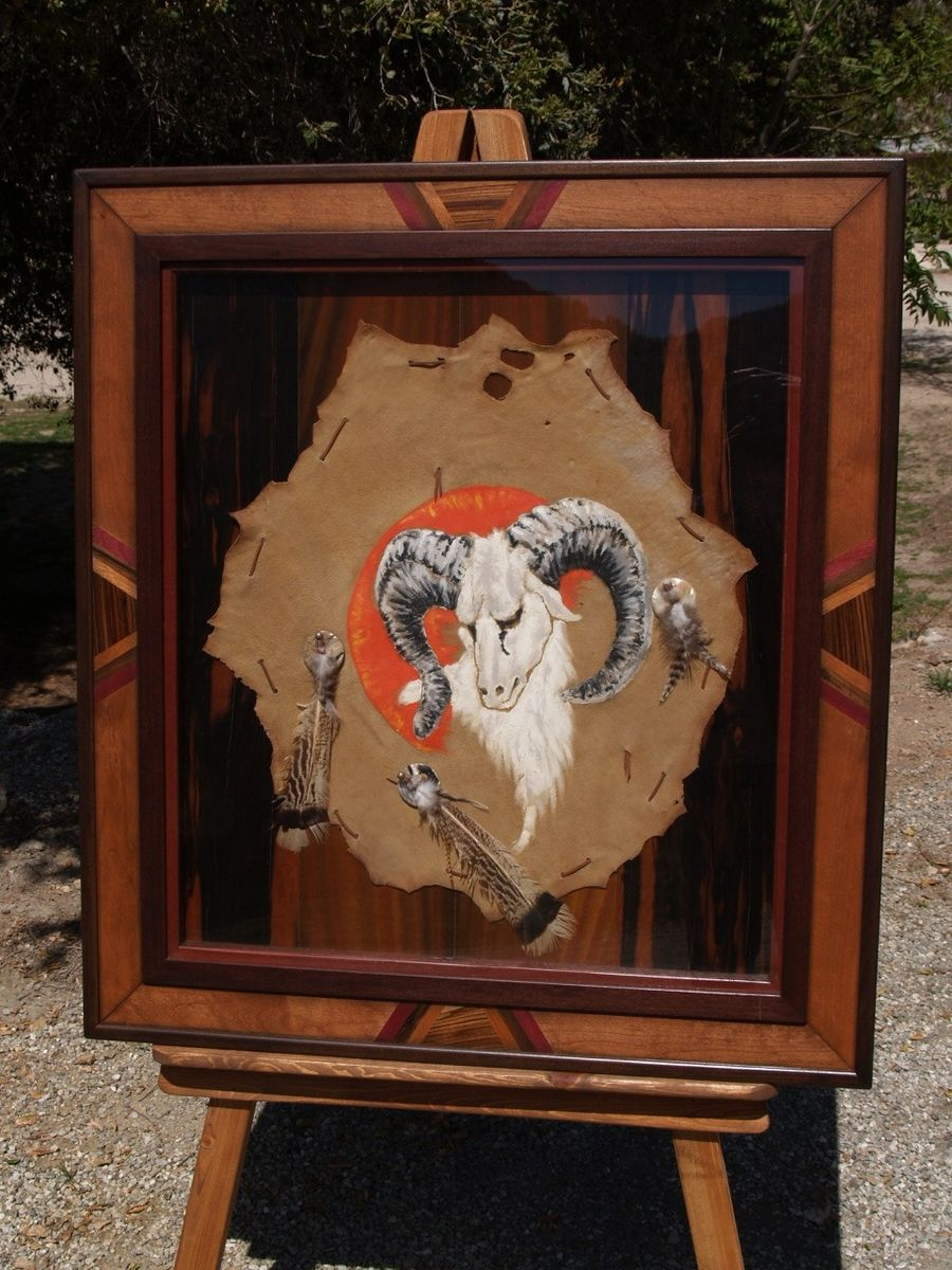 Custom Made Shadow Box Frame With Ram By Art Of Wood Custommade Com