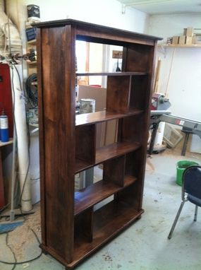 Custom Made Wansley Bookcase Bookcase