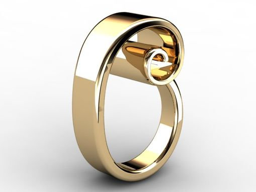 Custom Made Fibonacci Spiral Ring