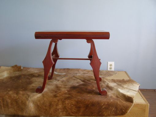 Custom Made Rosewood End Table For Sale