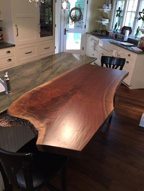 Custom Made Crotch Walnut Slab
