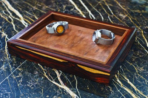 Custom Made Dresser Tray/ Gentlemen's Valet