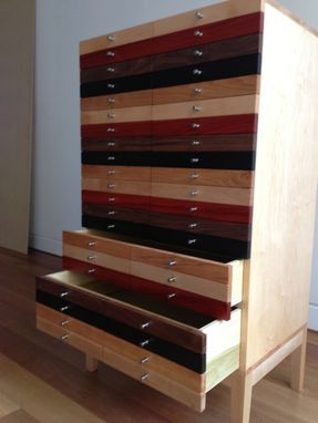 Custom Made Mulit-Wood Chest
