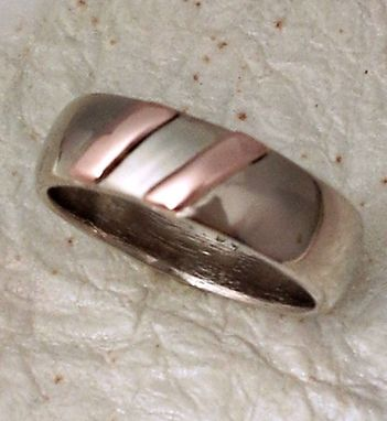 Custom Made Two Stripe Wedding Bands