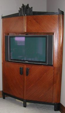 Custom Made Television Cabinet Ironwork
