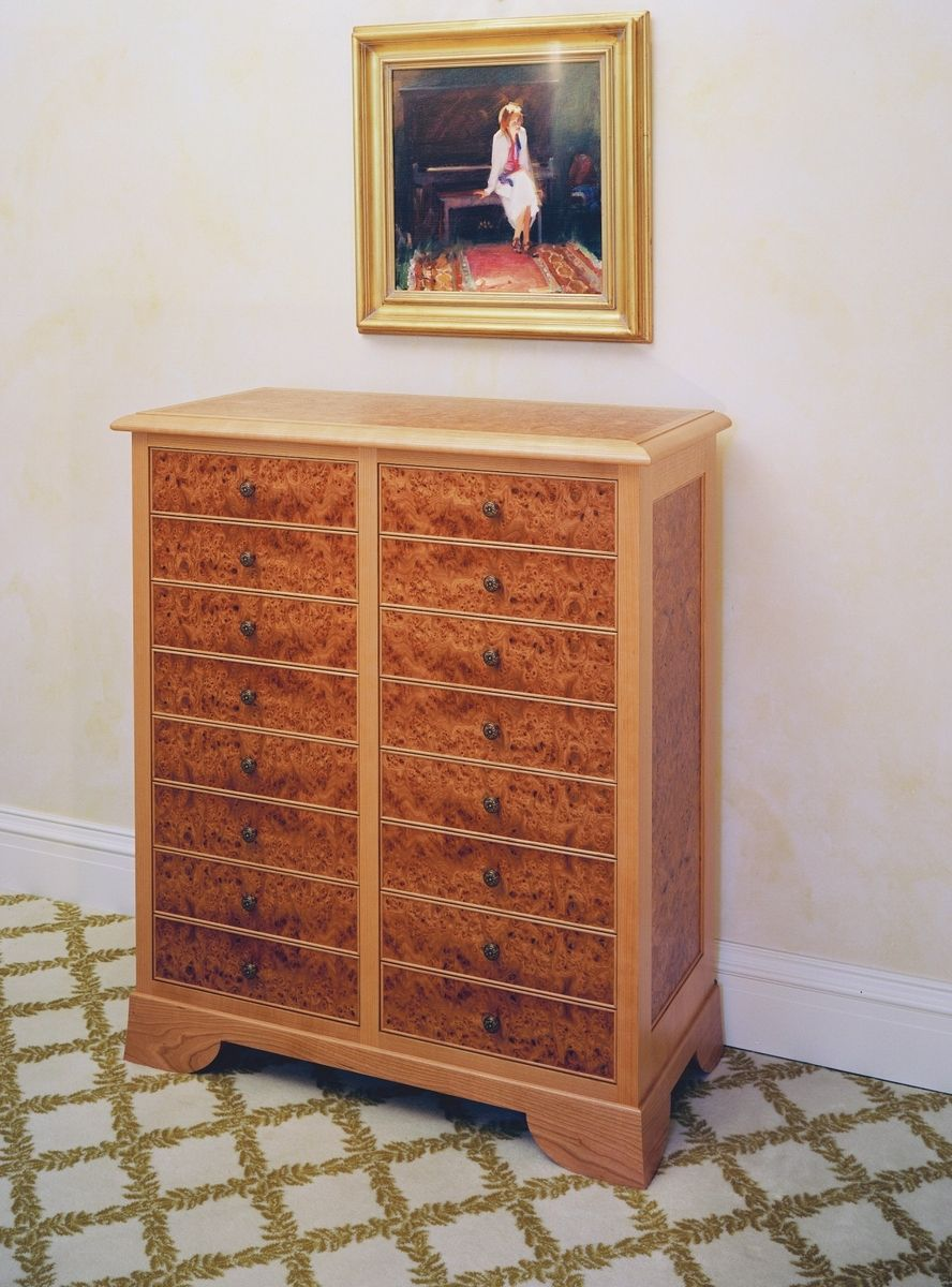 Hand Made Sheet Music Storage Cabinet By Boykin Pearce