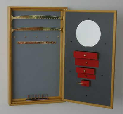 Custom Made Metamorphosis Jewelry Cabinet #!