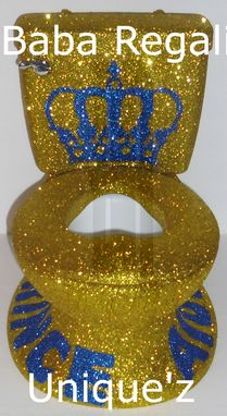 Custom Made Little Prince Potty Chair (Glitter My Size Potty Chair)