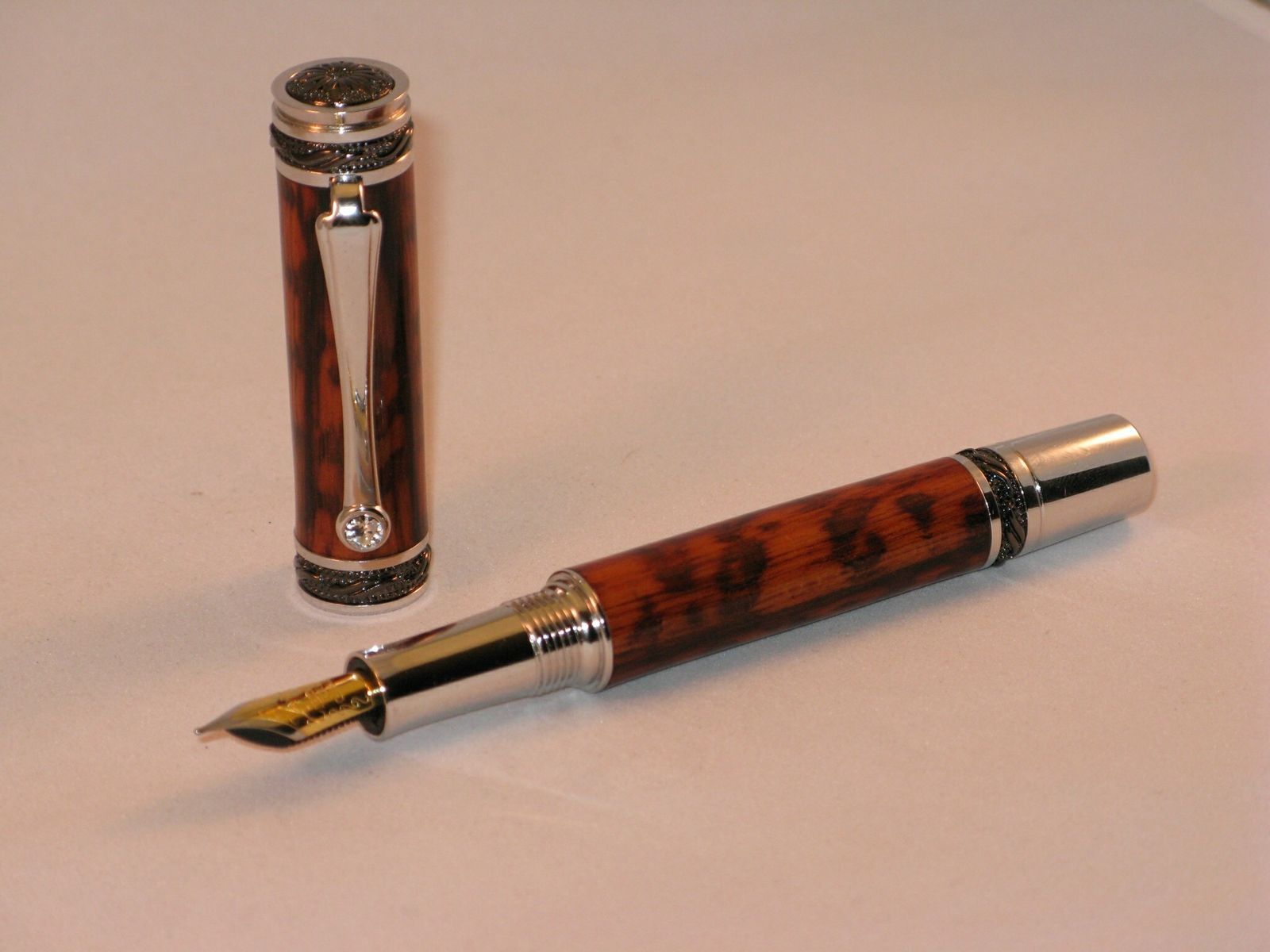 handmade wooden pens custom snakewood pen handmade wooden pen by 9397
