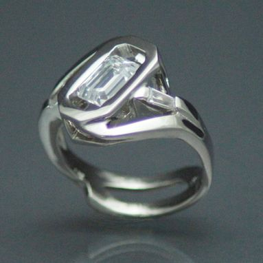 Custom Made 14kt White Gold Redesigned Ring