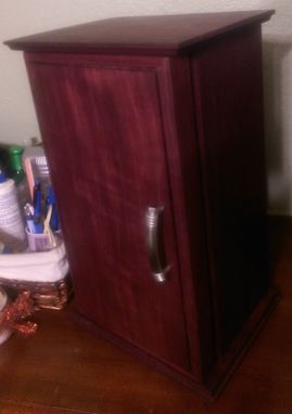 Custom Made Purple Heart Jewelry Box