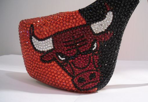 Custom Made Chicago Bulls Heels 2
