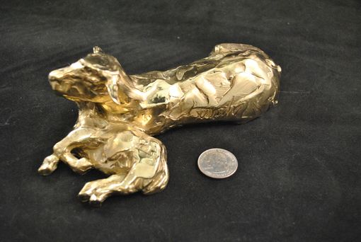 Custom Made Solid Gold Casting