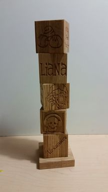 Custom Made Custom Family Totem Pole