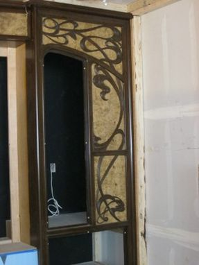 Custom Made Hand Carved Theater Surround