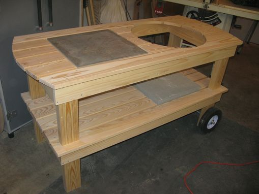 Custom Made Outdoor Barbeque Cart