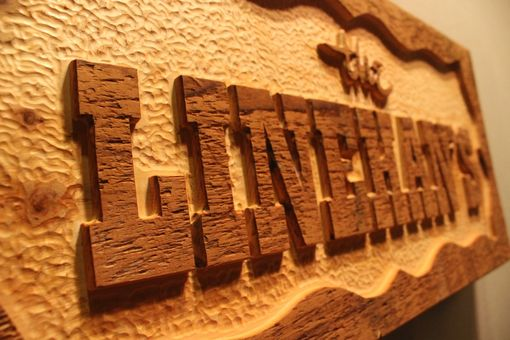 Custom Made Custom Reclaimed Wood Signs | Barnwood Signs | Barn Wood Signs | Hand Carved Signs