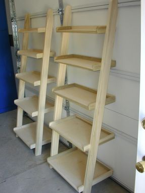 Custom Made Cascading Shelves