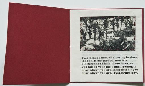 "Custom Made ""In The Aeroplane Over The Sea"" Hand Printed And Bound Book Series"