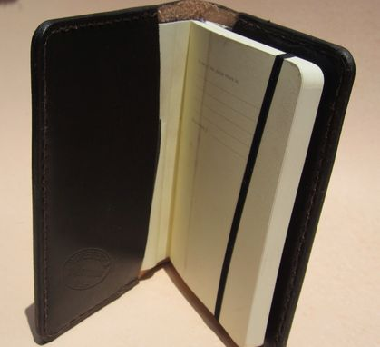 Custom Made Moleskine Notebook Cover, Diary Cover, Refillable Notebook