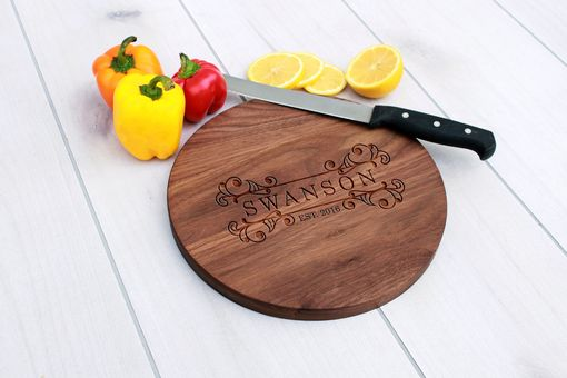 Custom Made Personalized Cutting Board, Engraved Cutting Board, Custom Wedding Gift – Cbr-Wal-Swanson