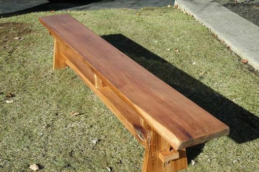 Custom Made Butternut Bench