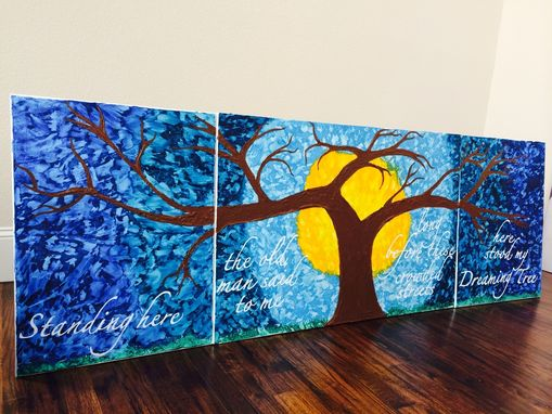 "Custom Made Dreaming Tree. A Tribute To Dave Matthews Band, ""Dreaming Tree"". 24x72"