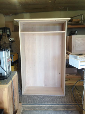 Custom Made Gun Cabinet