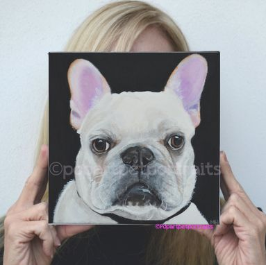 Custom Made French Bulldog Custom Pet Painting Custom Dog Paintings Custom Pet Painting