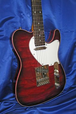 "Custom Made Red Deluxe ""Tele"""