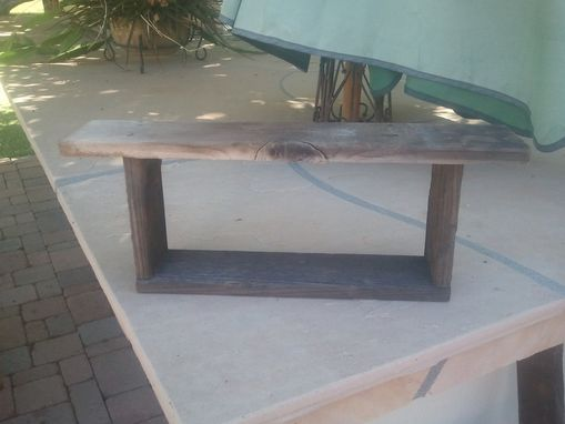 Custom Made Small Barnwood Shelf