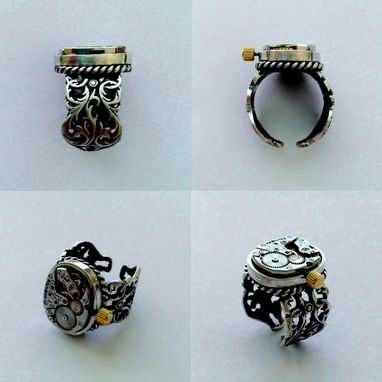 Custom Made *Working* Steampunk Female Ring