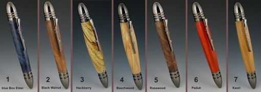Custom Made Civil War Bullet Twist Pens