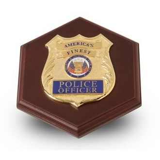 Custom Made Police Department Medallion Paperweight