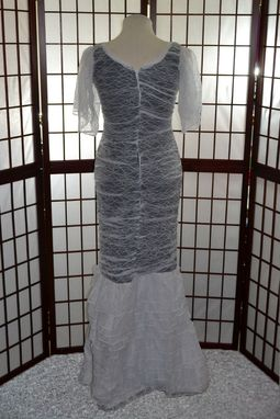 Custom Made Lace Evening Gown