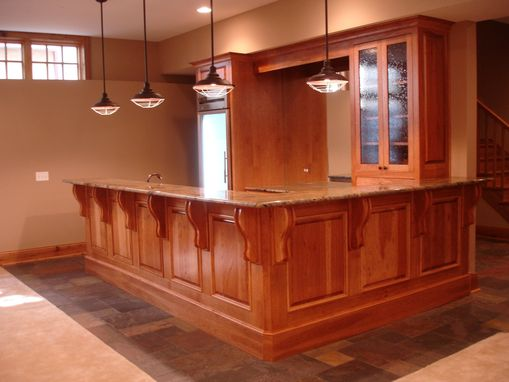 Custom Made Hickory Cabinets