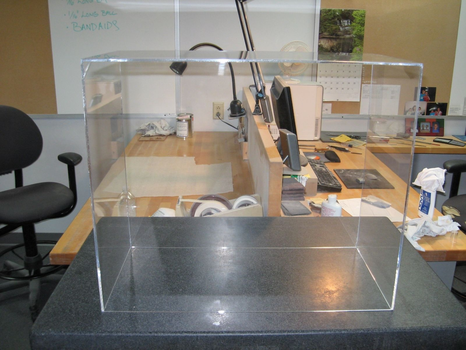 Acrylic display case by kyle squillace