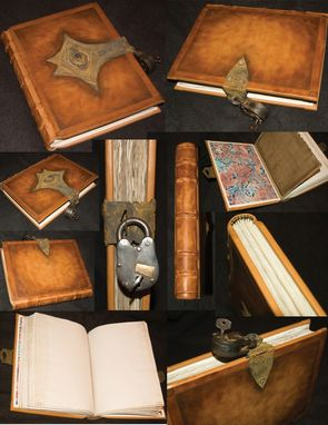 Custom Made The Realm Of Salama Spell Book