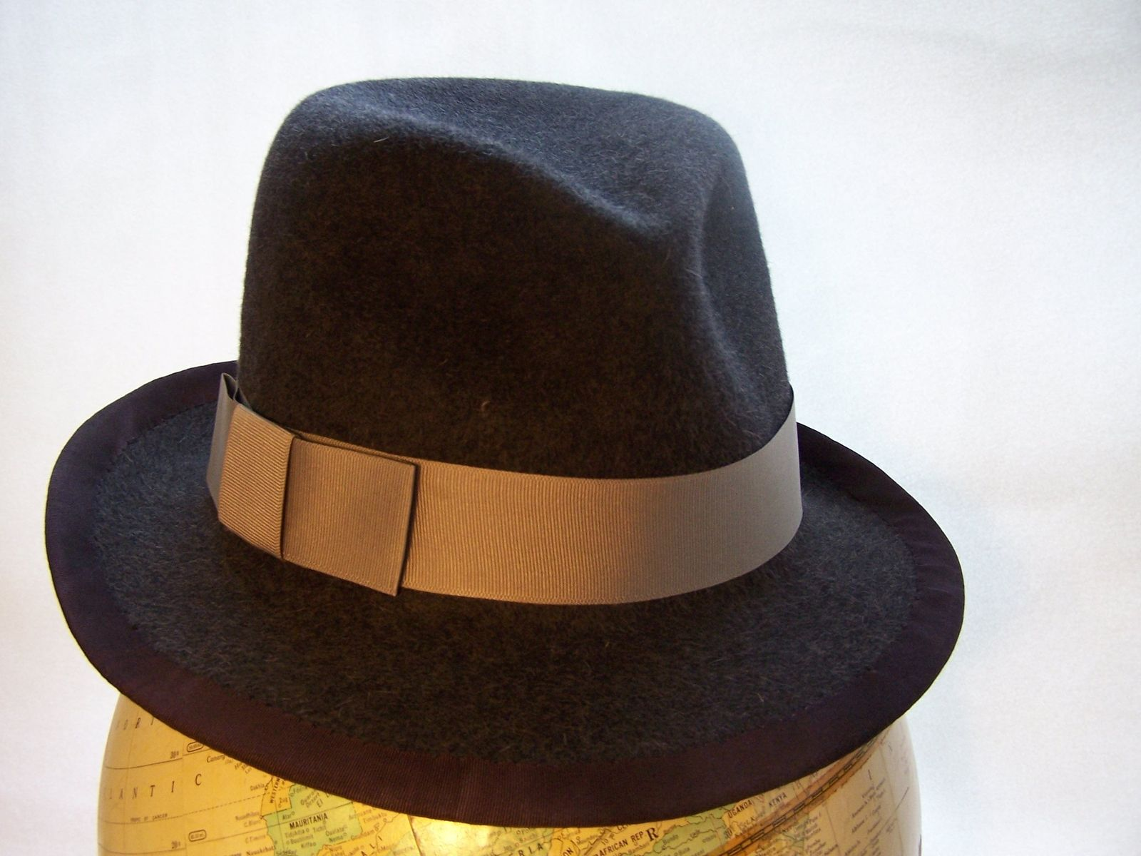 00558a5b50a1f Handmade Men s Trilby Fedora by Mixed Media by Bridget