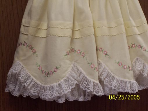 Custom Made Hand Smocked Easter Or Party Dress