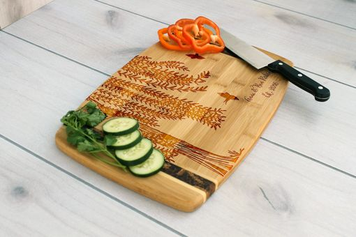 Custom Made Personalized Cutting Board, Engraved Cutting Board, Custom Wedding Gift – Cb-Bamm-Anne Ben Perkins