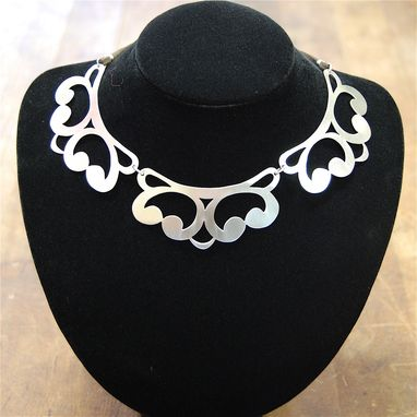 Custom Made Lace Collar Necklace