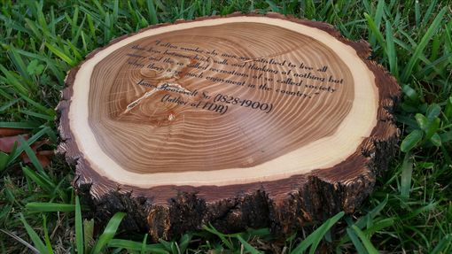 Custom Made Personalized Engraved Olaques