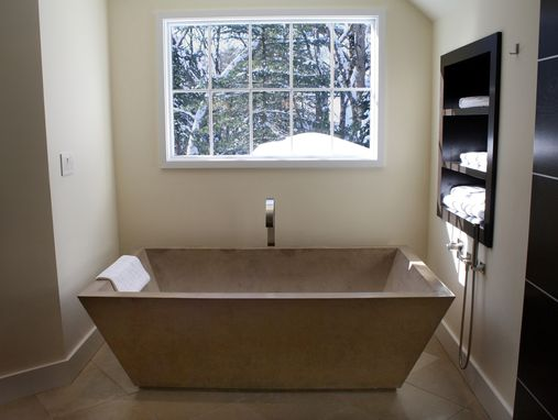 Custom Made Concrete Tub