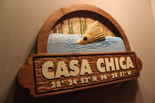 Custom Made Custom Wood Signs | Hand Carved Wooden Signs | Home Signs | Cabin Signs | Cottage Signs | Fish Signs