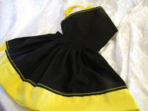 Custom Made Girls Semi-Formal To Formal Top & Skirt With Embroidery Detail