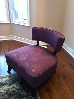Custom Made Monroe Occasional Chairs